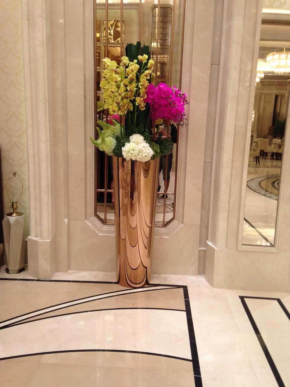 佛山生产不锈钢花盆,烤漆花盆,花盆