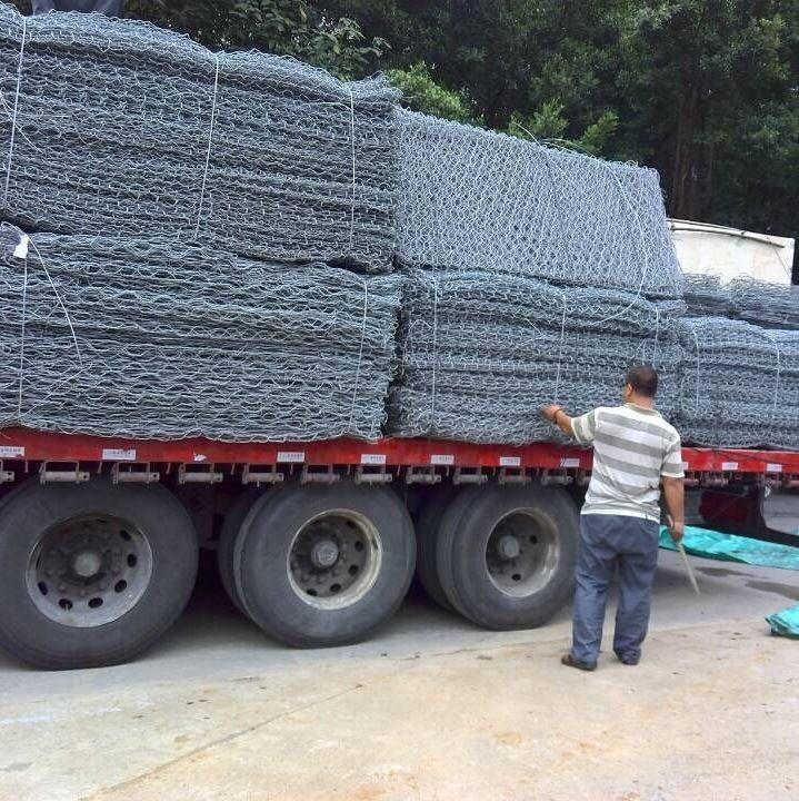 河道治理賓格網 疏導河流專用鉛絲石籠網 賓格石籠網