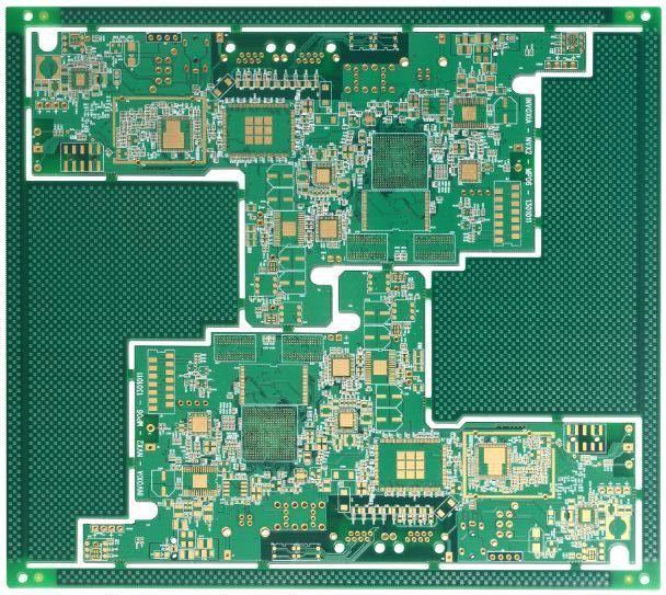 6層高密度pcb多層工控板