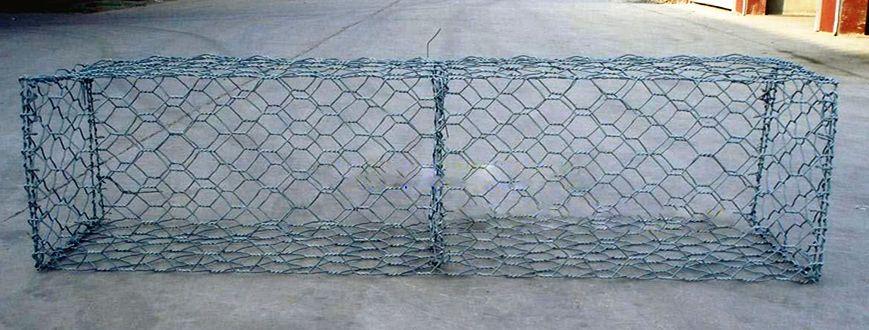 河道石籠網熱鍍鋅鉛絲石籠 格賓籠高爾凡石籠網箱