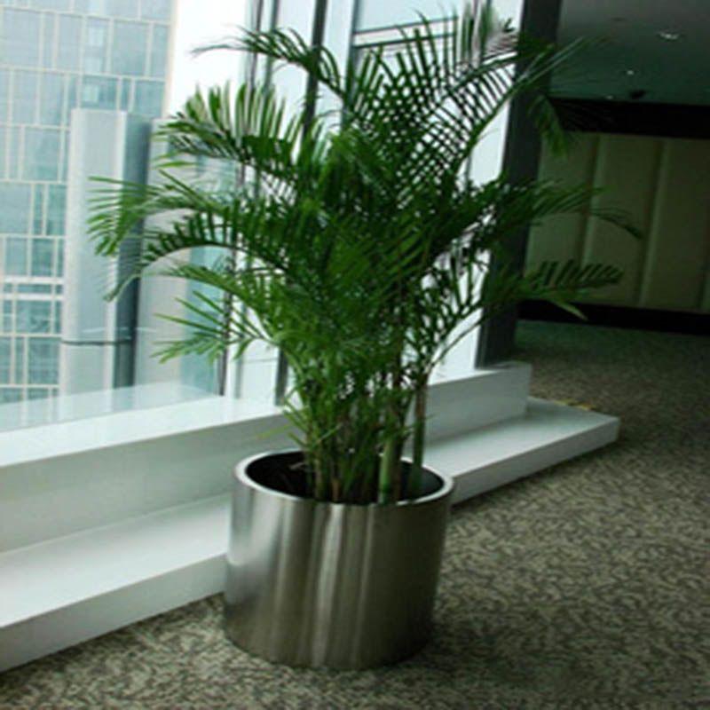 供应大量批发订做耐腐蚀优质不锈钢花盆