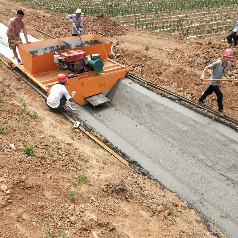 山东梯型渠道成型机 加工定制水渠成型机