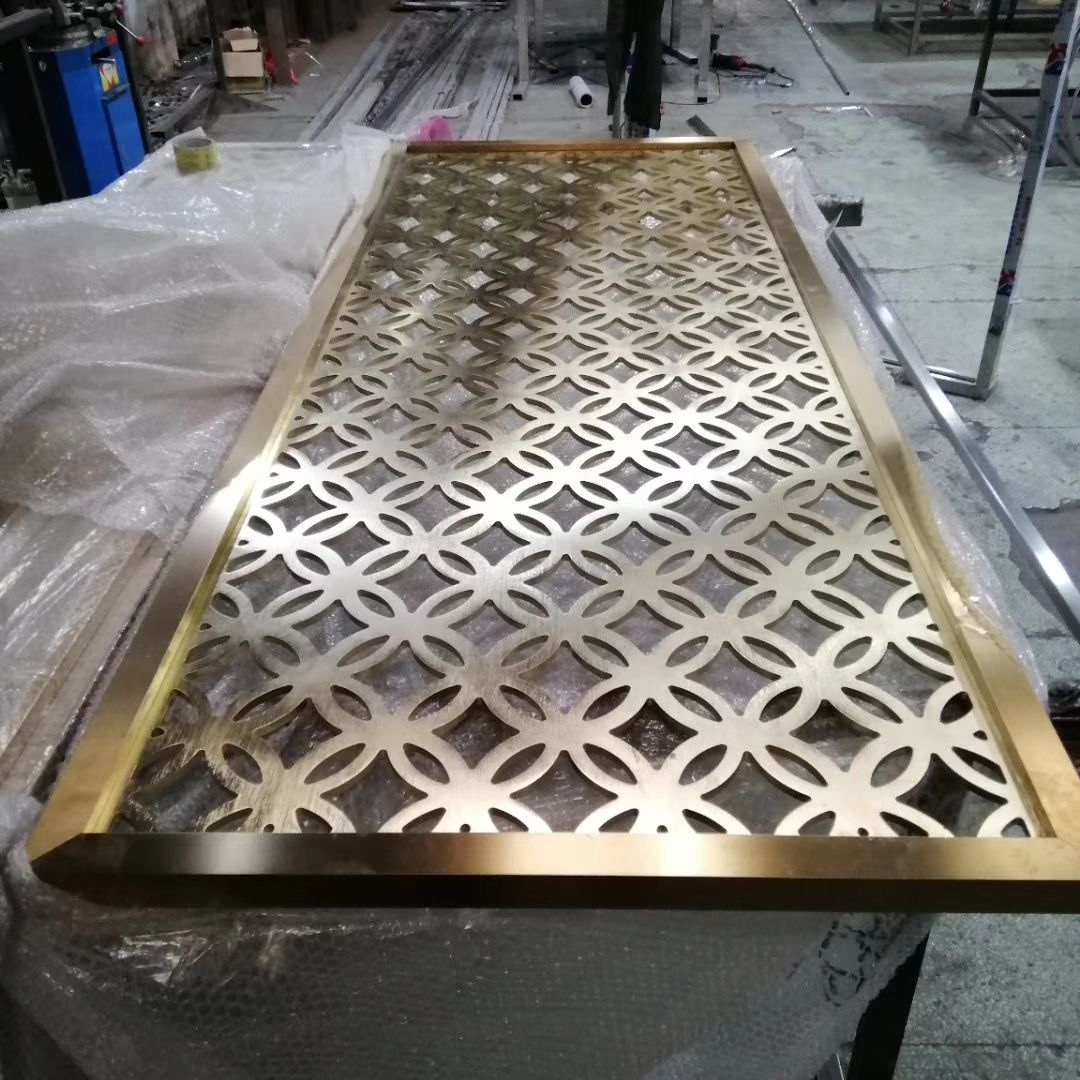 藝術屏風 不銹鋼隔斷 不銹鋼屏風 鋁隔斷 鋁屏風 鋁窗花廠家