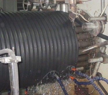 PE塑料檢查井纏繞管設備生產線