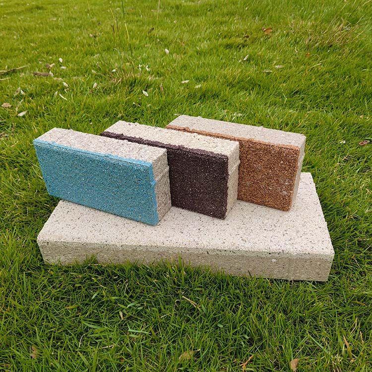 人行道铺设陶瓷透水砖的优势分享