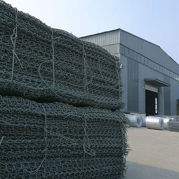 河道治理格宾网 覆塑PVC宾格网 镀锌石笼网