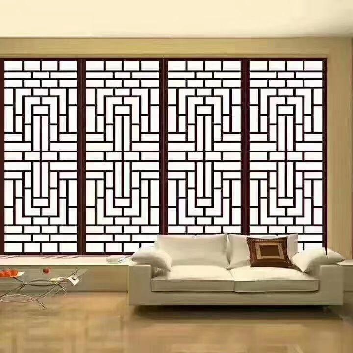 上海酒店会所304香槟金不锈钢屏风花格厂家 屏风隔断厂家定制