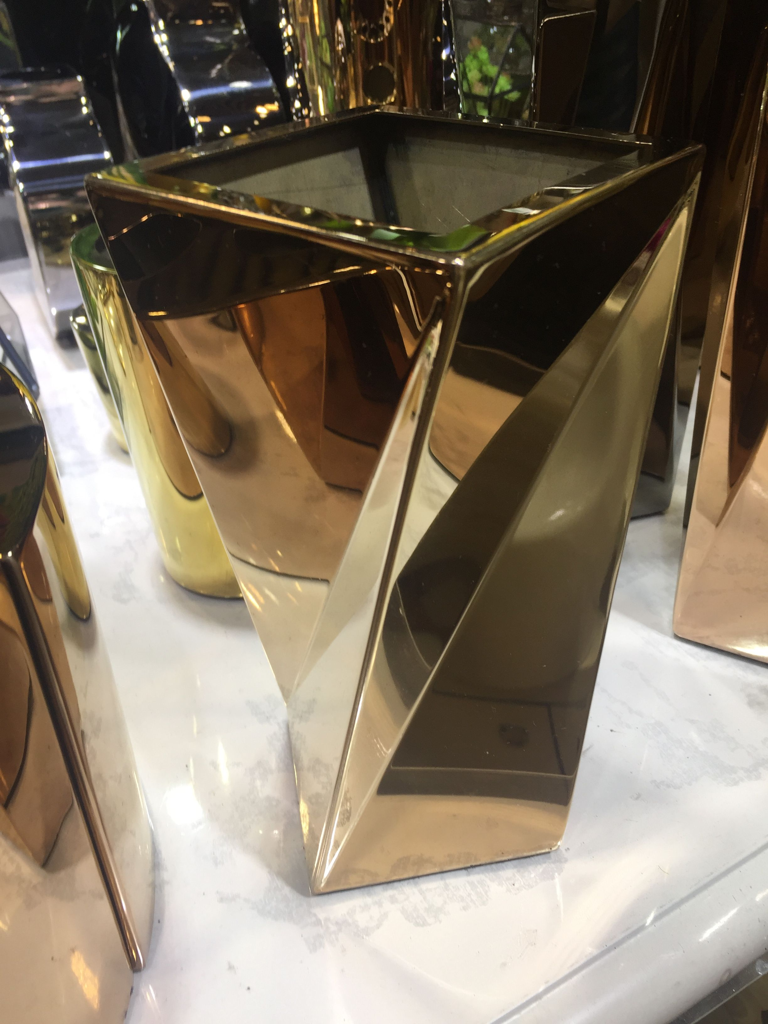 商场专用304不锈钢花盆 组合式花盆定做 厂家