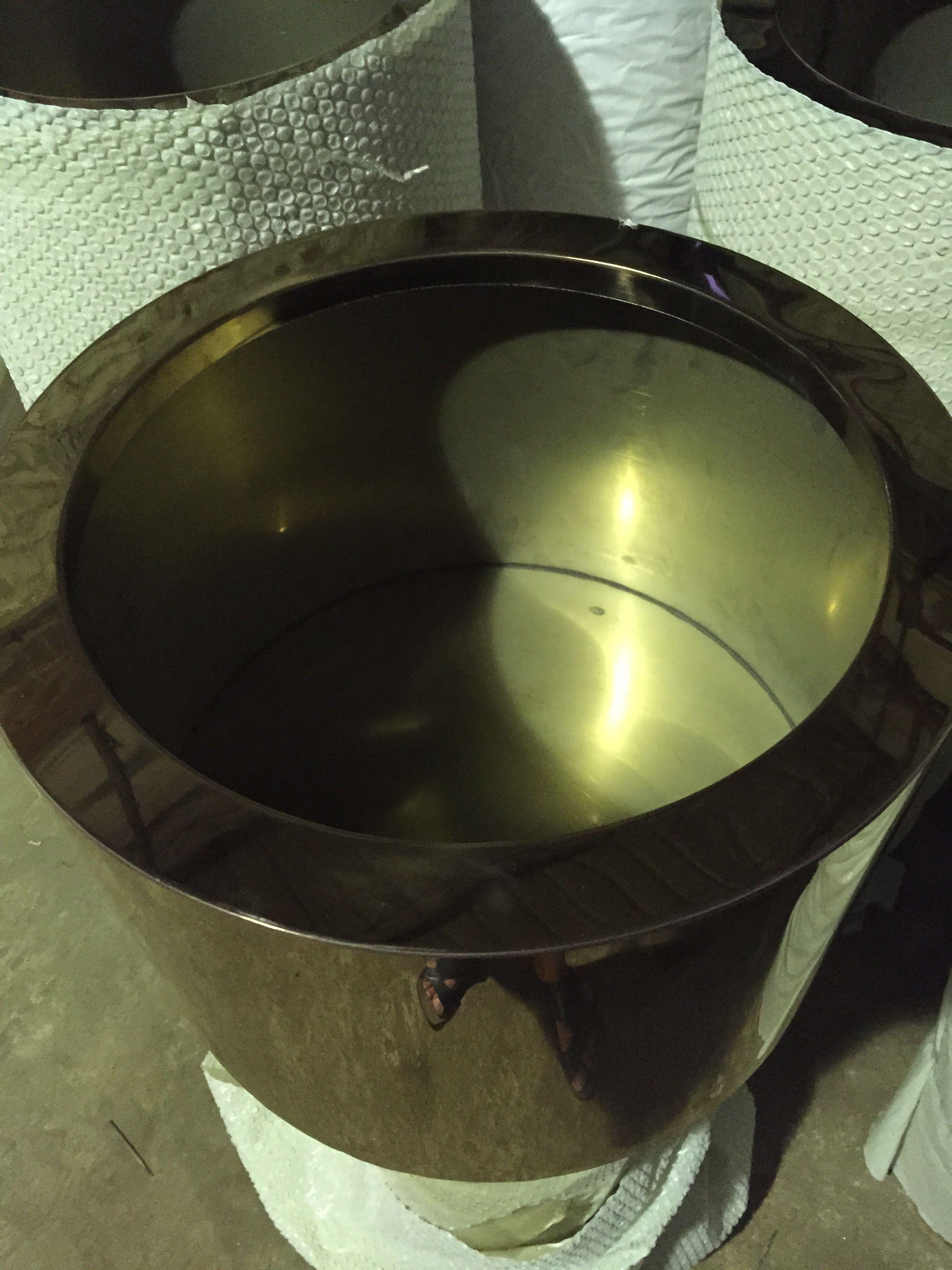 超大不锈钢花盆加工定制园艺园林花盆花器容器定制加工酒店会所用
