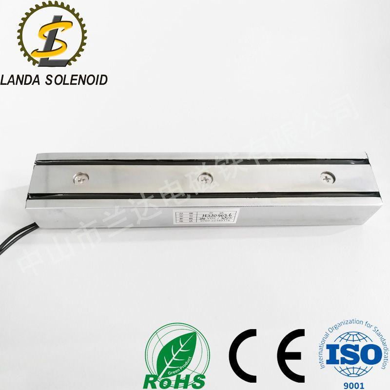 廣東電磁鐵吸圓管電磁鐵 H2104026 加T型板電磁鐵
