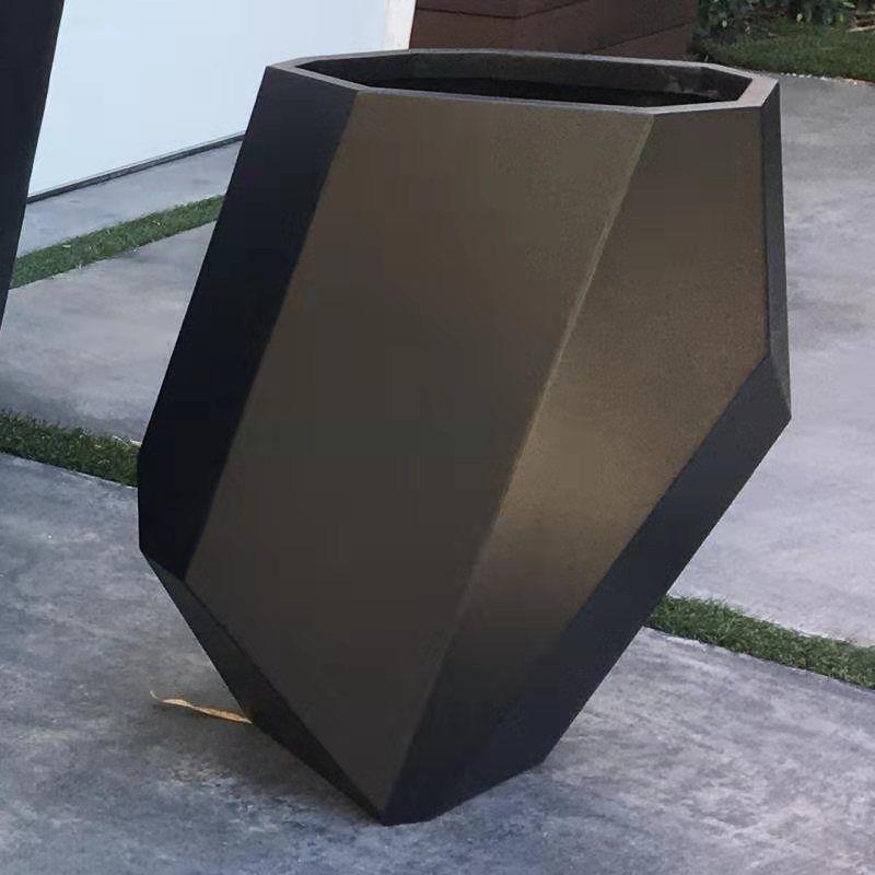 不銹鋼花盆 定制花盆 不銹鋼花盆容器 不銹鋼花盆廠家