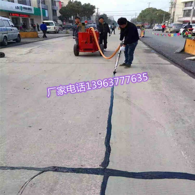 100升混凝土路面灌縫機手推式裂縫地面填縫劑