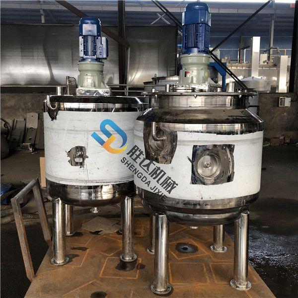 多功能搅拌罐液体低速搅拌机 304不锈钢防腐蚀匡式桨叶拌料罐