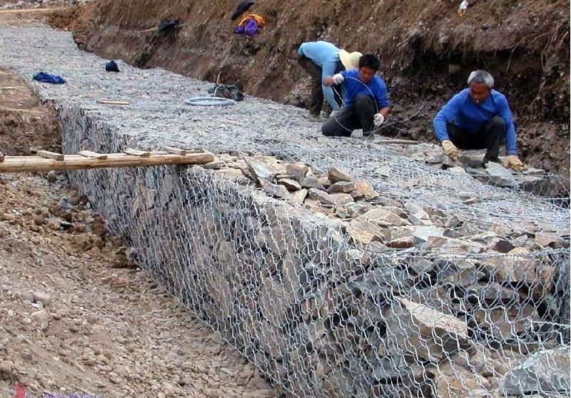 路基箱 河道防护网 格宾网 石箱网镀锌石笼网