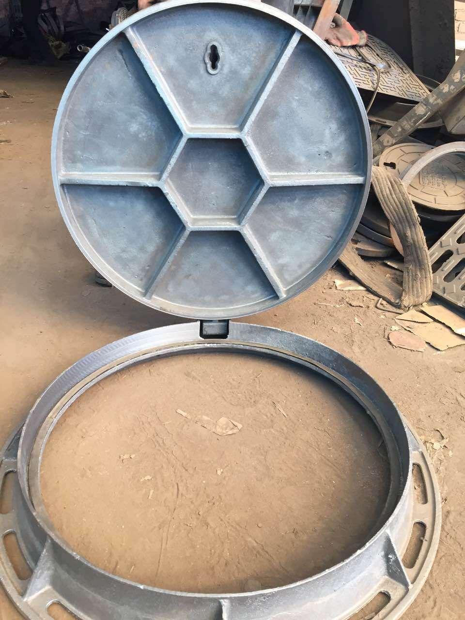 廠價直銷 球墨鑄鐵井蓋 下水道用800型 河北廠家供應