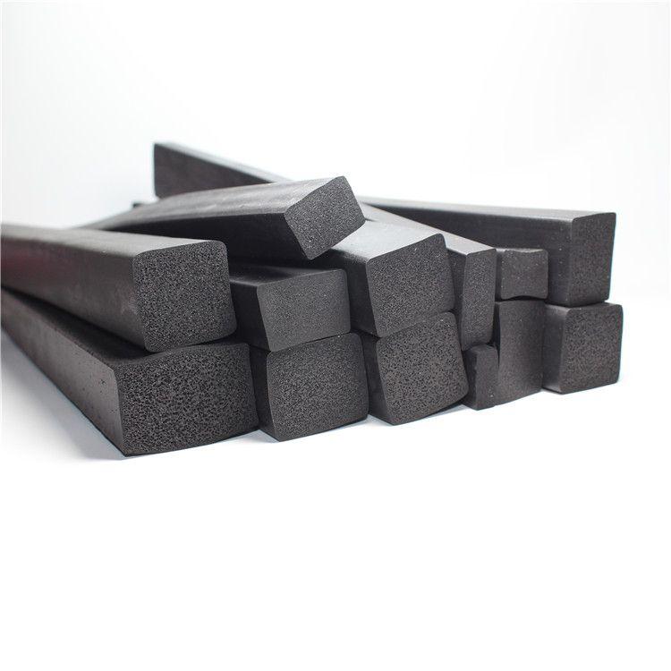 三元乙丙发泡平板密封条 平板防水发泡海绵橡胶条