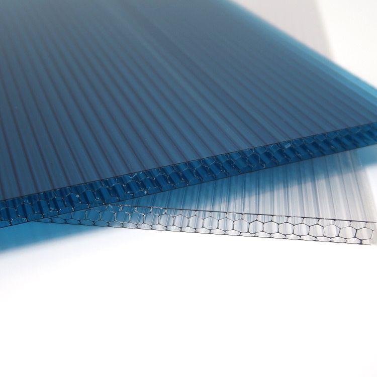 PC耐力板雨棚__无声支架透明雨棚__松夏建材价格实在