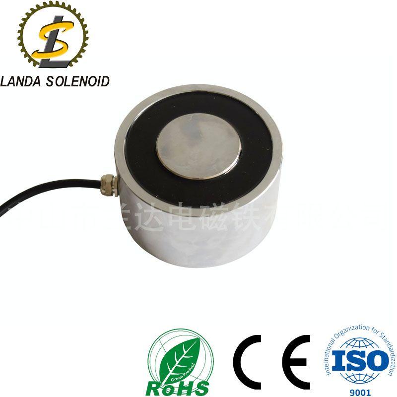 廠家供應直流型號12080非標定制電磁鐵 圓形吸盤式