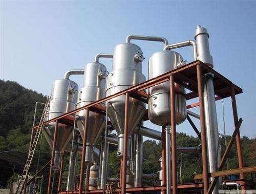 加工订制降膜低温浓缩蒸发器 立式单效浓缩真空蒸发器