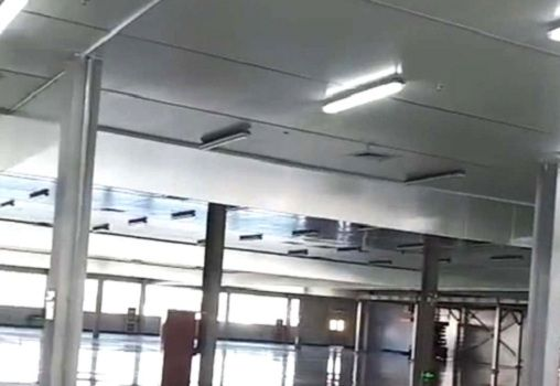 玻璃擋煙垂壁定制