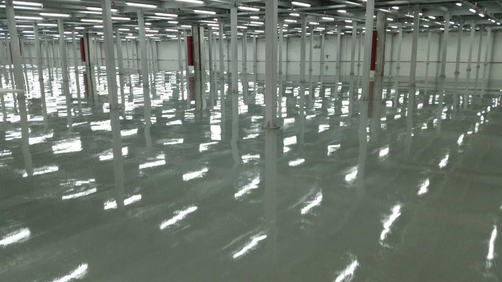 环氧树脂防滑地坪地下车库工程道路划线交通设施停车设备