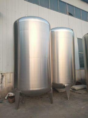 订做各种不锈钢化工储罐 立式牛奶饮料储罐