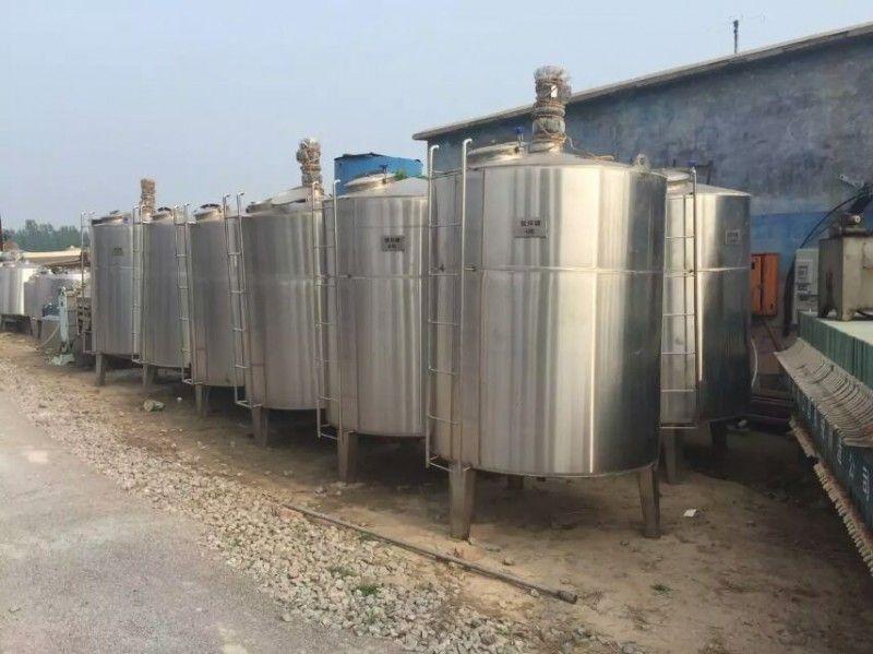 訂制各種立式牛奶飲料儲罐 不銹鋼碳鋼儲罐