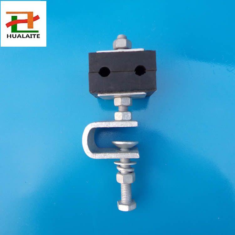 专业生产塔用ADSS引下线夹光缆塔用引下卡具多种光缆金具生产商