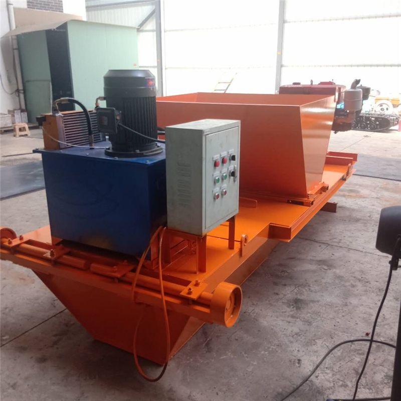 加工定制水渠成型机渠道衬砌机厂家直销滑膜机