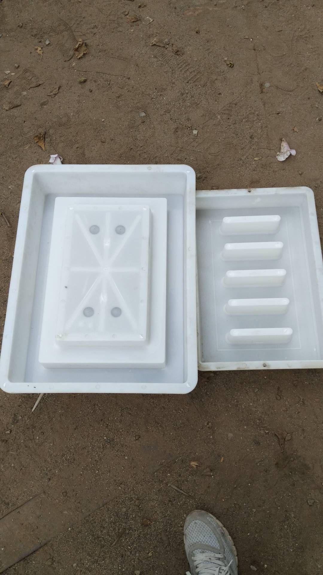 井盖塑料模具-水泥井盖钢模具-防盗井盖模具
