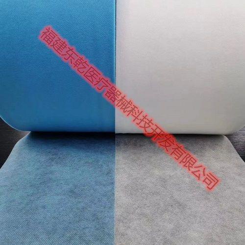 廠家直銷SS25g無紡布一次性口罩195/175白藍色無紡布