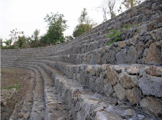 生态边坡防护镀锌石笼网 格宾石笼网厂家