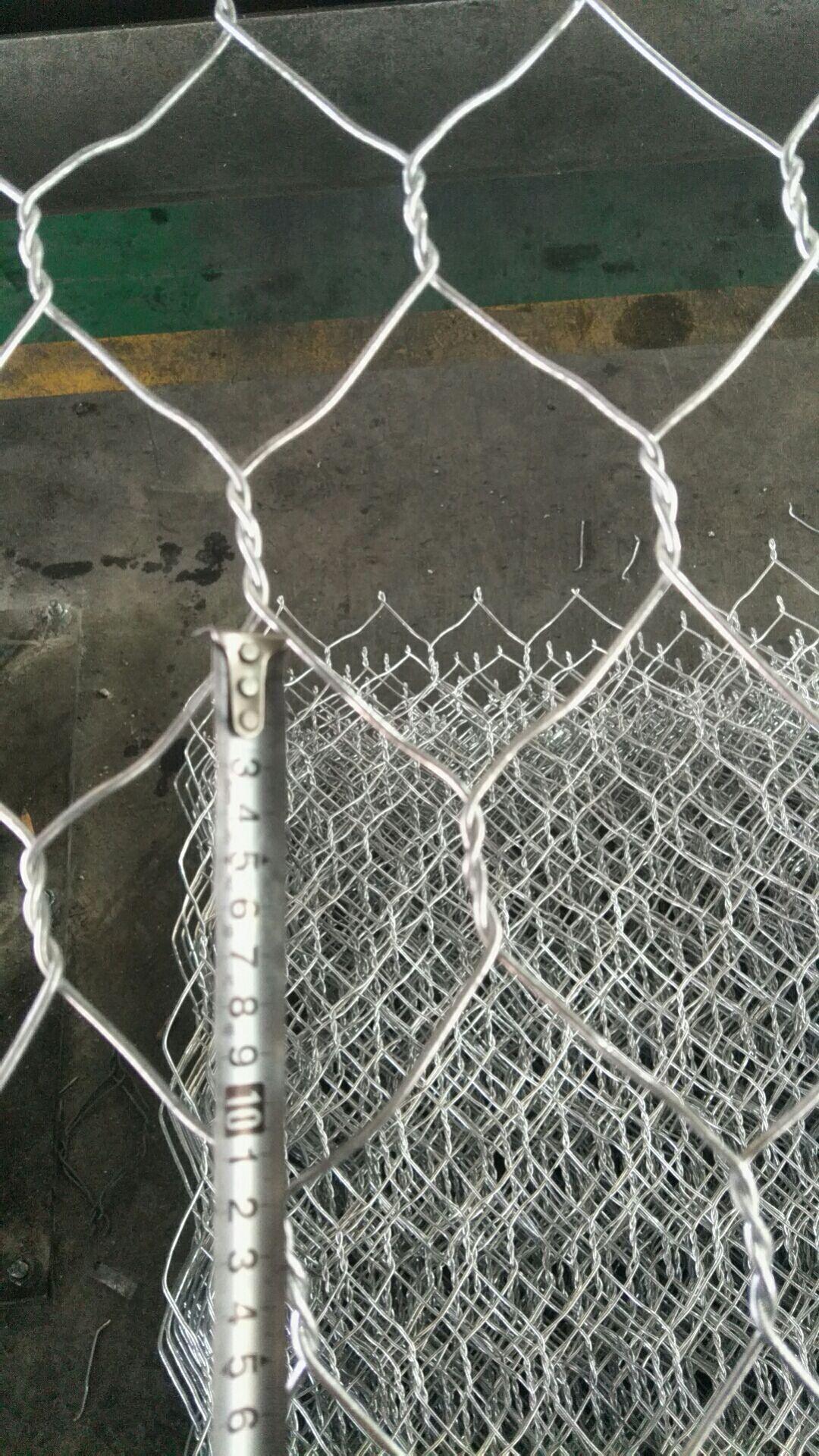 镀锌铅丝笼 生态绿滨铁丝网批发零售 包塑五拧六角网格宾网来电加工定做