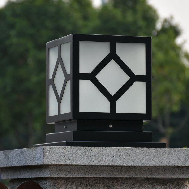 柱头灯围墙灯大门口室外庭院别墅柱子接电户外防水led