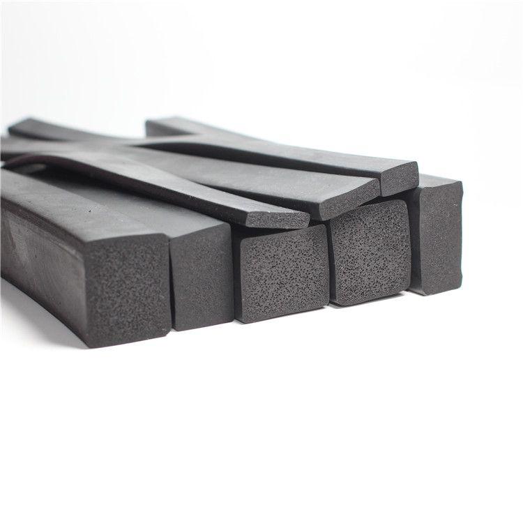 三元乙丙发泡密封条,epdm矩形长方形海绵发泡橡胶密封条