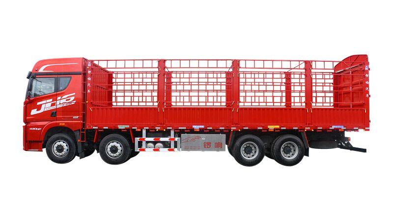 山東鑼響倉柵式載貨車 9米6載貨車 鋁合金工具箱 廠家直銷