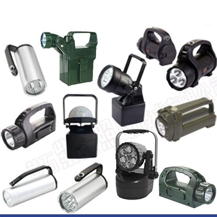 紫光照明YJ1201固态手提式防爆探照灯