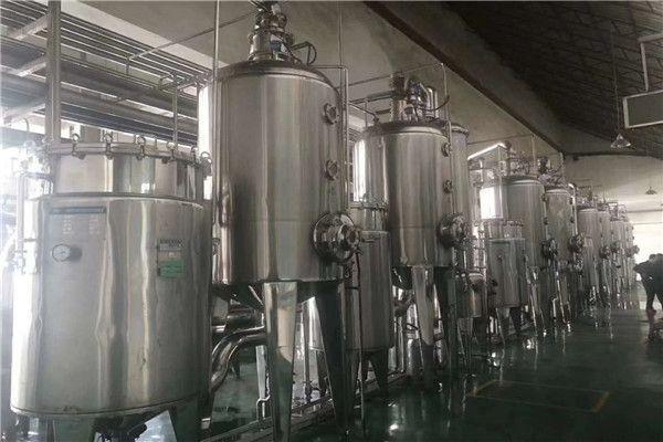 加工订制强制循环四效蒸发器 两吨三效蒸发器