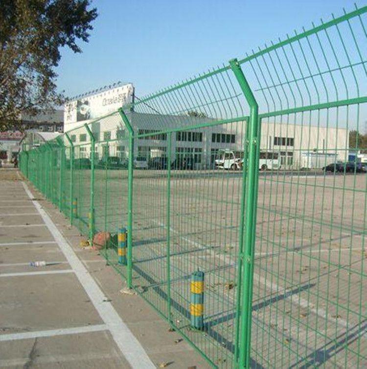 框架铁丝围网 厂家直销边框式护栏网铁路栅栏铁丝网片可定制