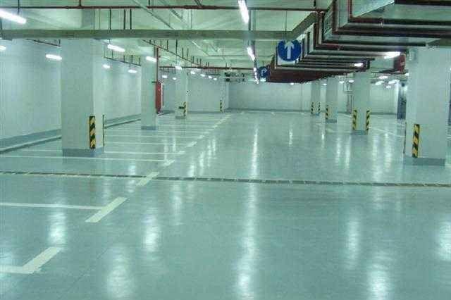 环氧树脂砂浆耐磨材料高清车牌识别系统停车位划线