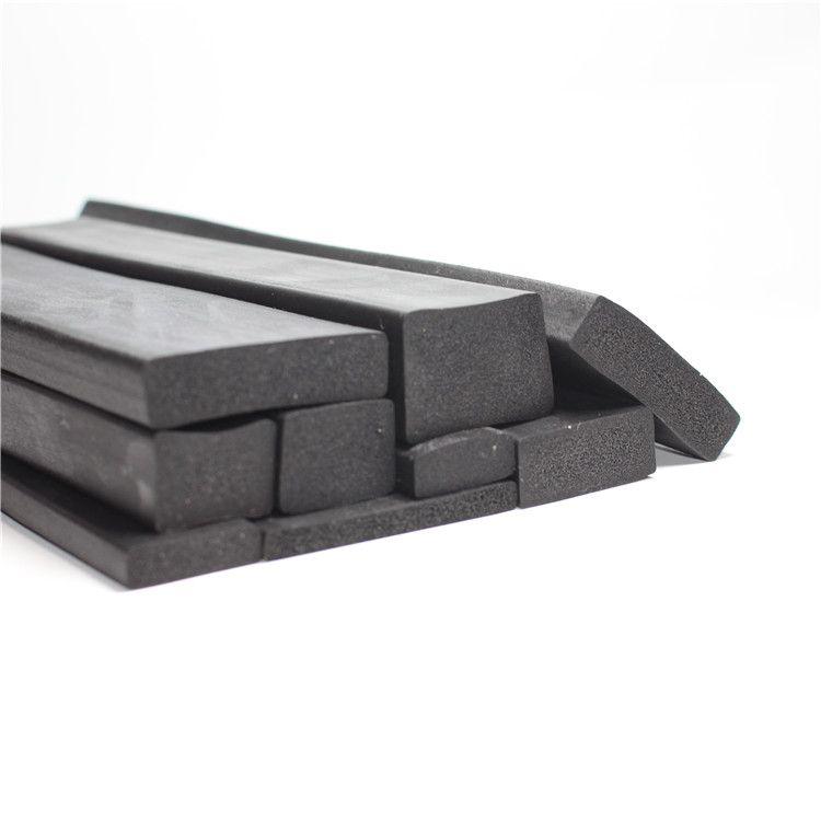 厂家供应三元乙丙矩形发泡密封条海绵条EPDM长方形发泡条