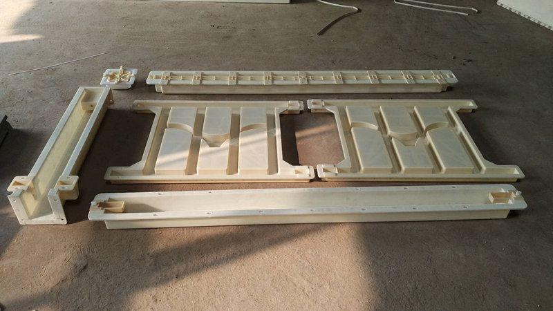 圆形防护栏模具-混凝土防护栏模具