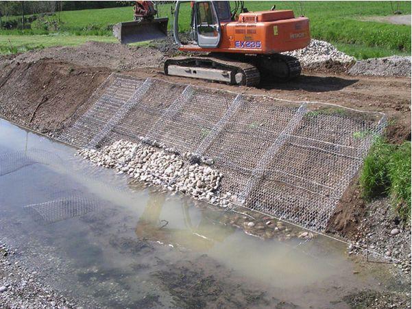 鍍鋅五擰石籠網 防洪石籠網工程格賓網 賓格石籠網廠家