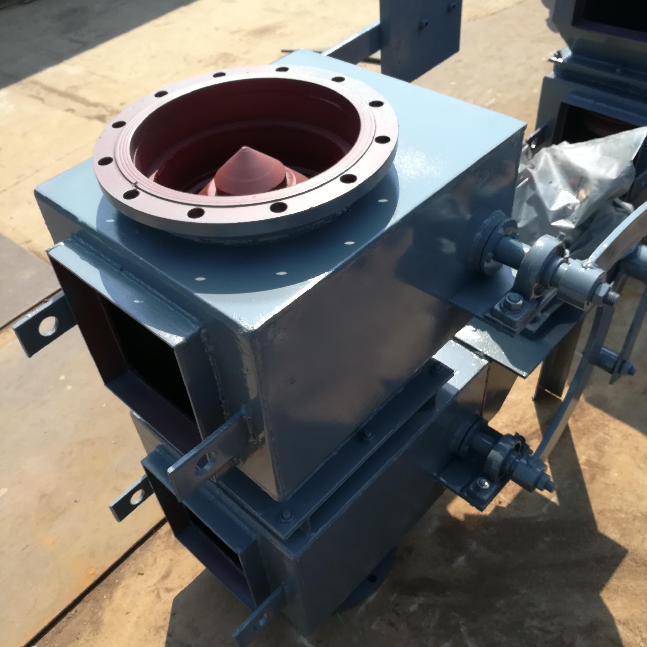 河北供应电动双层翻板阀双层锁气阀生产厂家