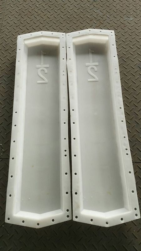混凝土标志桩钢模具-锥形标志桩模具
