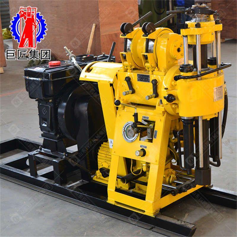 巨匠供应HZ-130Y型液压强动力勘探钻机率可打百米