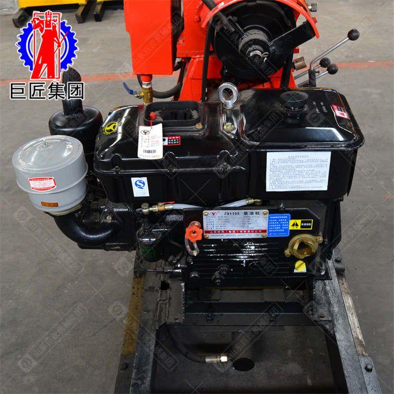 华巨供应HZ-130YY型液压移机款配置高强动力钻机可打百米