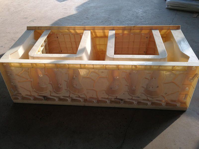 箱型护岸模具-平铺式框格护坡模具-塑料模具