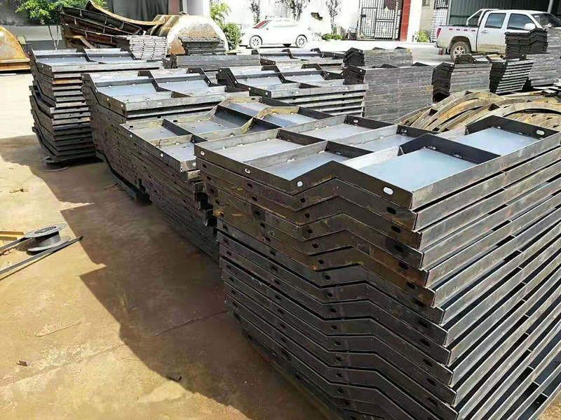 防撞墙钢模具规格厂家-高速公路防撞墙钢模具
