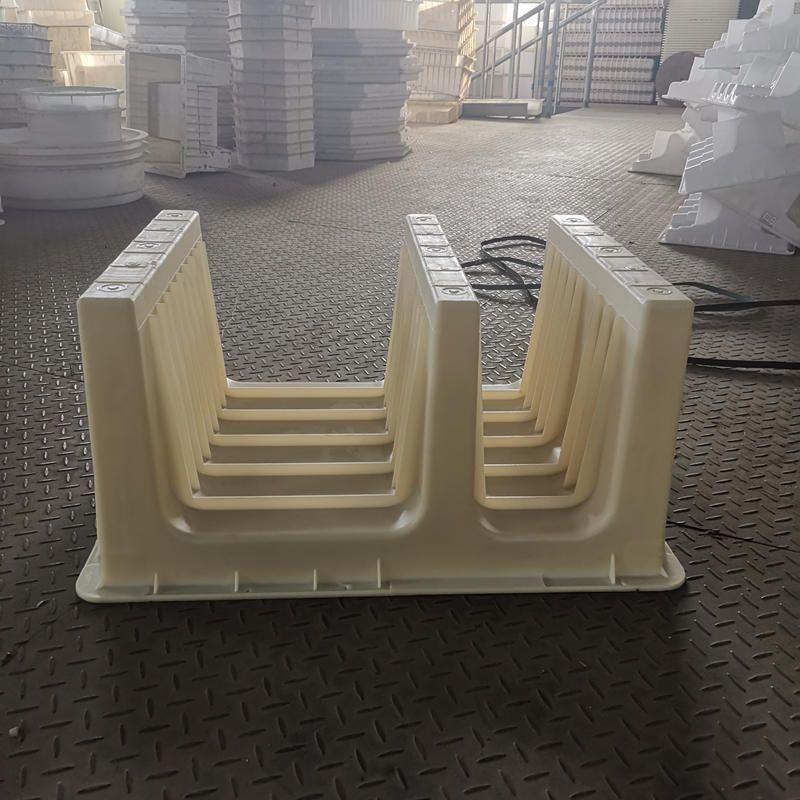 水泥电缆槽模具-路基电缆槽模具